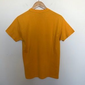 Russell Athletic Shirts - Mustard yellow Spartans track field t-shirt gold S